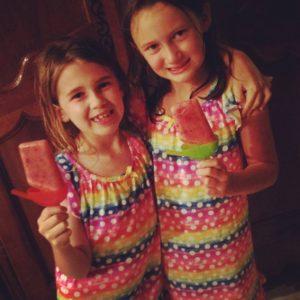 Slumber Party Strawberry Pops